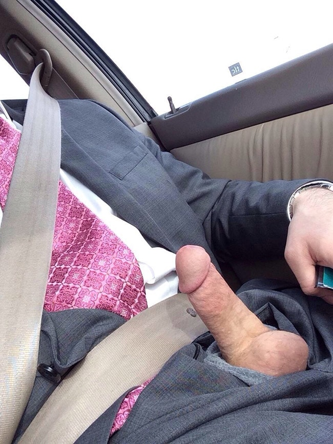 Dick in The Car