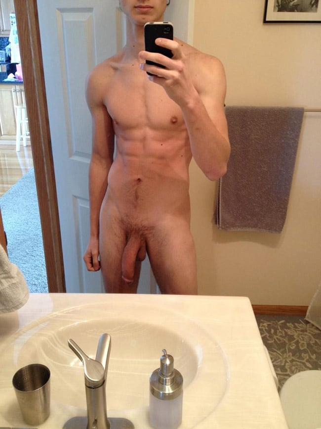 Hot Hanging Prick